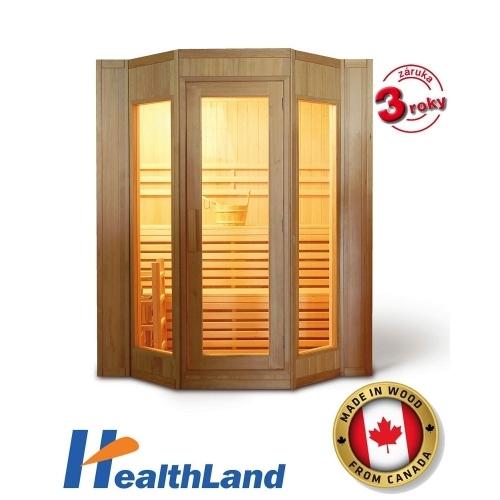 HEALTHLAND Finská sauna DeLuxe HR4045 Finland