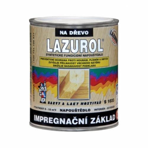 Lazurol S1033 impregnační základ čirý, 750 ml