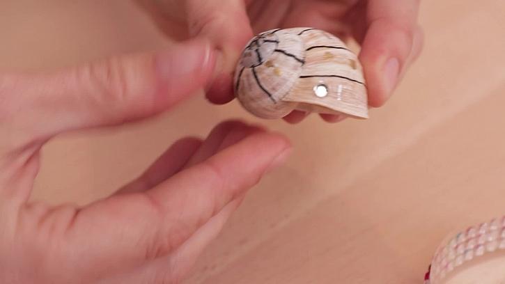 Zdobení kamínkem