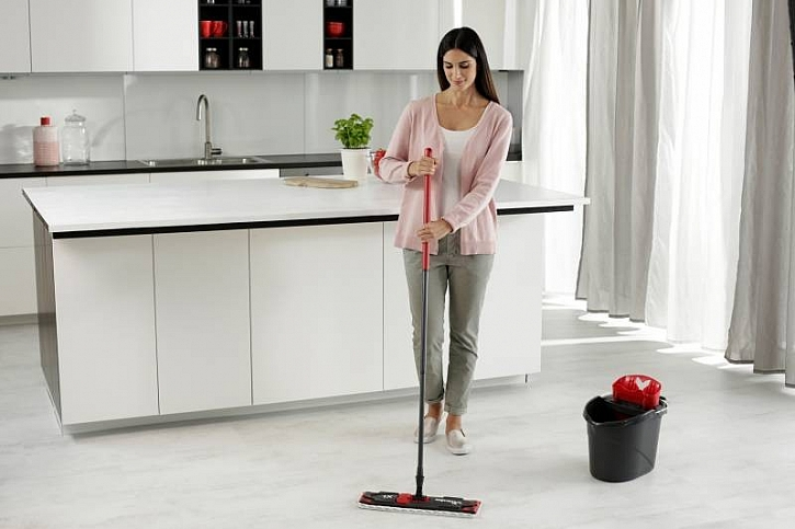 Čistá podlaha je základem útulného domova (Zdroj: Vileda)