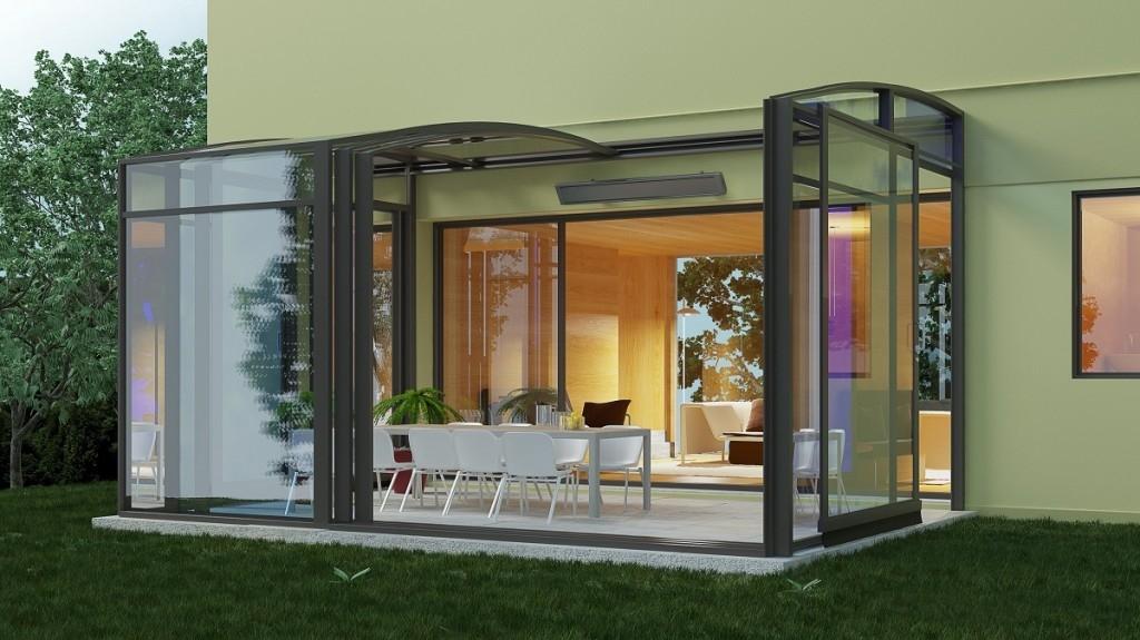 I na podzim vám teplo na terase zajistí venkovní sálavé panely