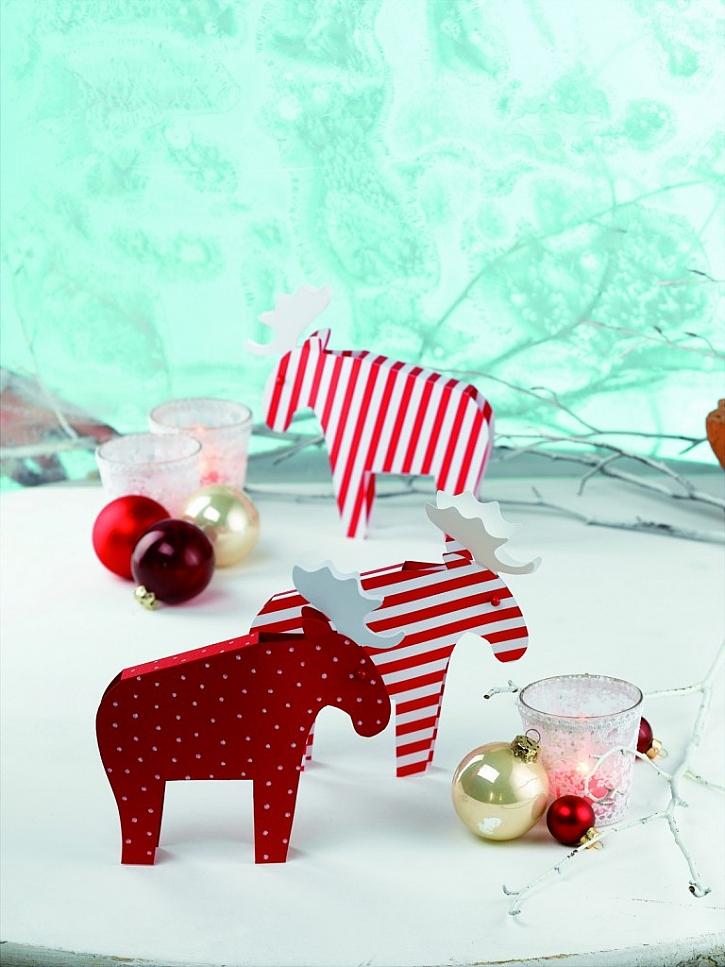 Vánoční skládanka - Sobi