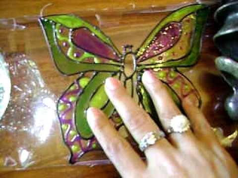 Motýl zPET lahve