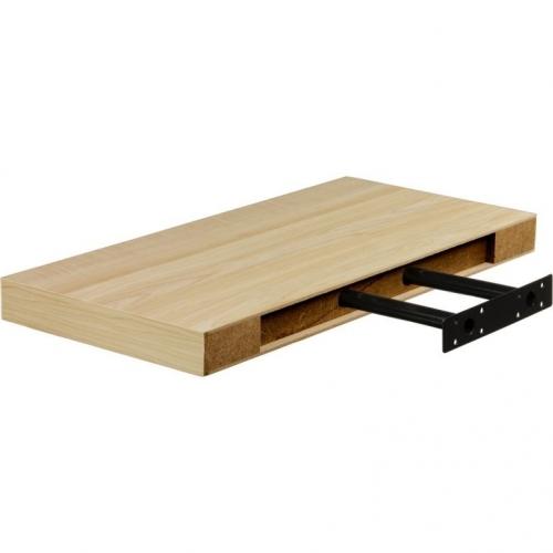 STILISTA VOLATO 31061 Nástěnná police  - světlé dřevo 70 cm
