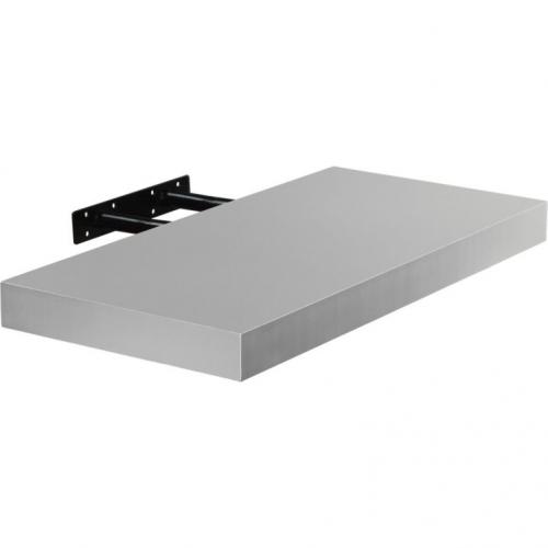 STILISTA VOLATO 31059 Nástěnná police  - stříbrná 70 cm