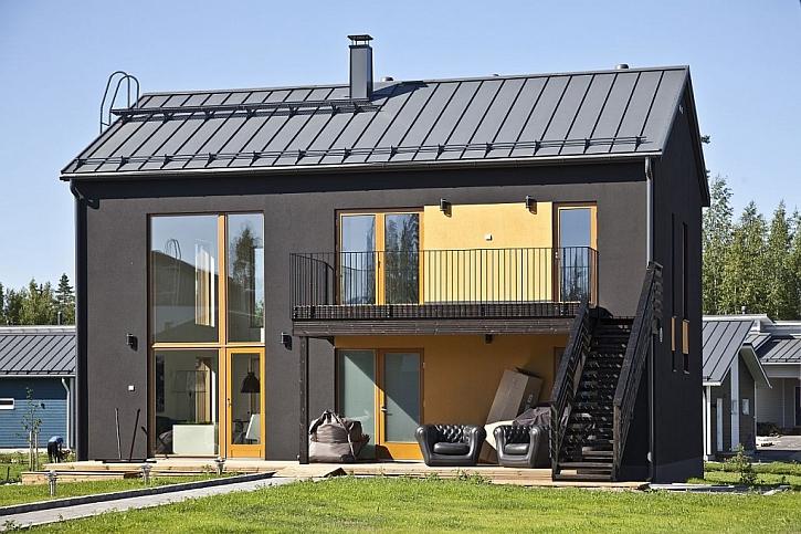 Skandinávský styl vládne i střechám a fasádám Ruukki