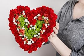 Vyzdobte si byt květinovým aranžmá i na Valentýna