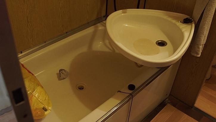 ... koupelna zrovna tak.