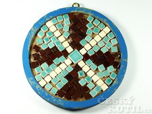 Výroba mandaly s mozaikou