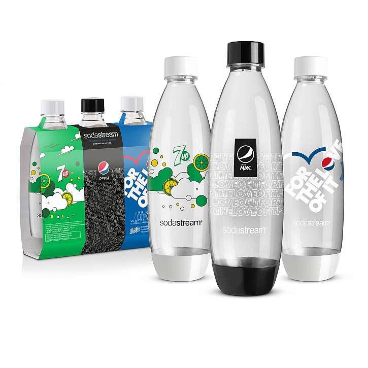 Třetí cenou jsou lahve Fuse Pepsi