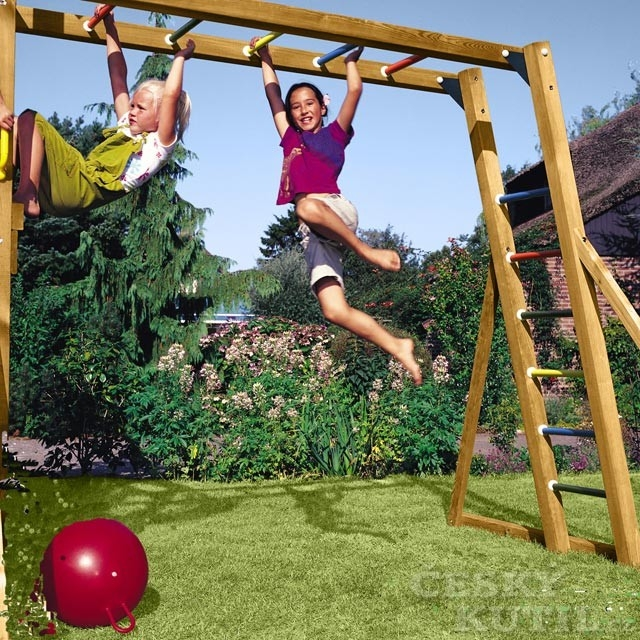 Jungle Gym umí růst v prostoru i v čase