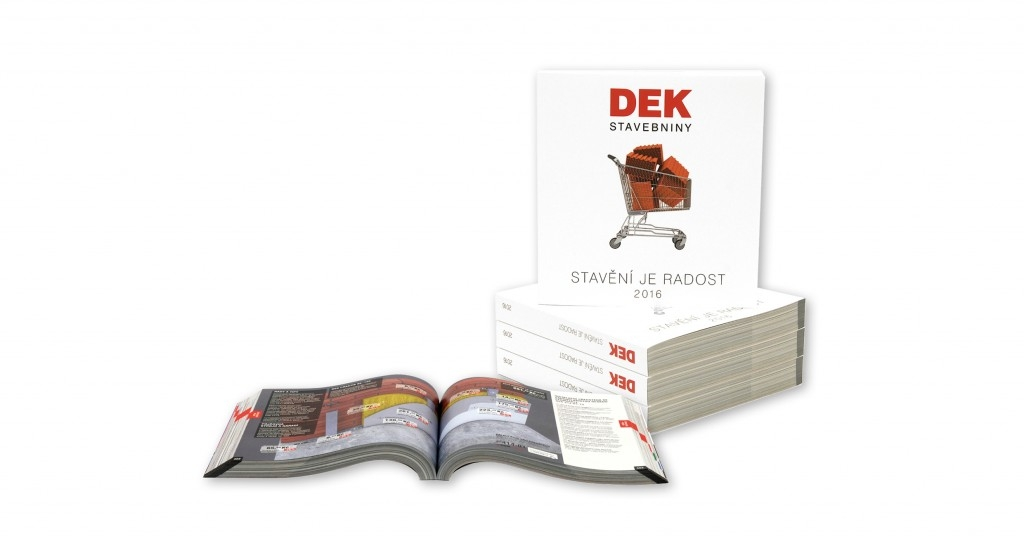 Know-how pro svou stavbu najdete v katalogu Stavebnin DEK