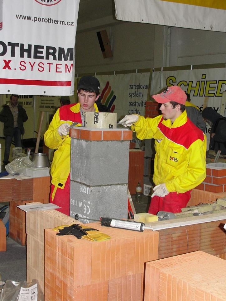 Stavitel představí novinky ve stavebních materiálech