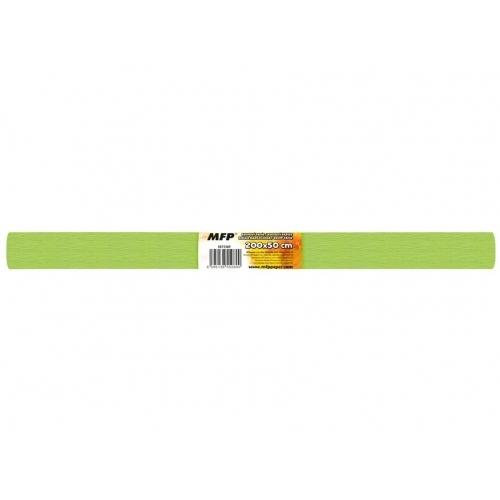 MFP krepový papír role 50x200cm neon zelený