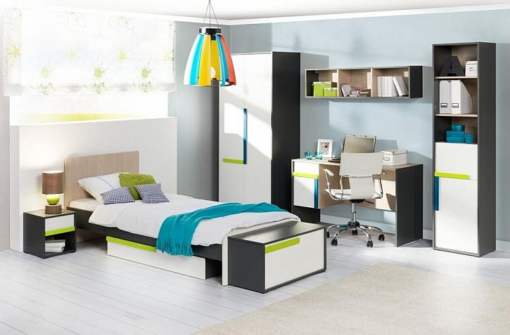 Bezpečné zázemí pro děti vytváří volný prostor, kvalitní materiály i ergonomie nábytku