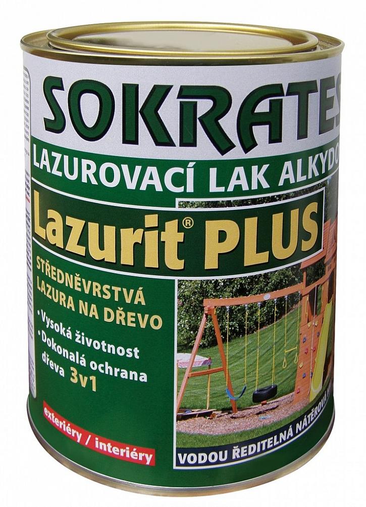 Ochranu před UV zářením a dřevokaznými chorobami zajistí SOKRATES Lazurit Plus