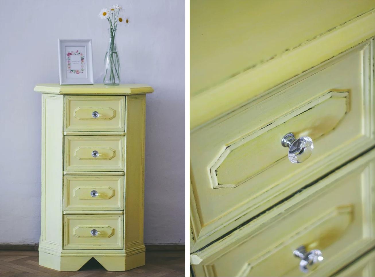 Jak udělat renovací ze staré skříňky či komody zajímavý designový kousek?