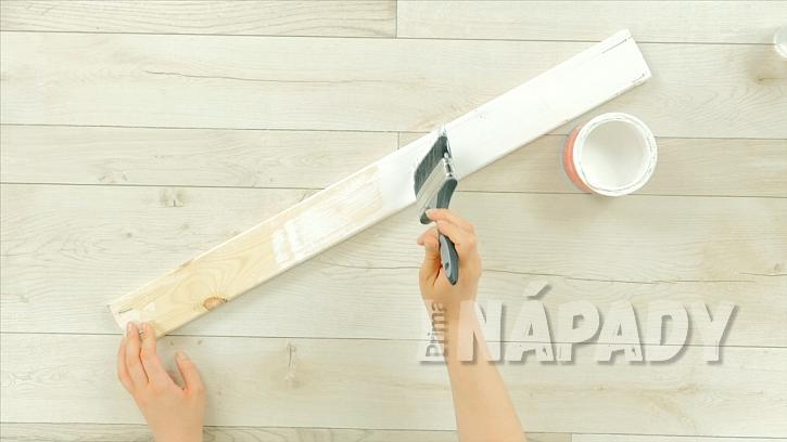 Dřevěná polička z laťky: Jak rychle a snadno vyrobit poličku na zeď 1