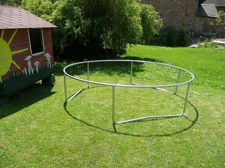 Montáž trampolíny