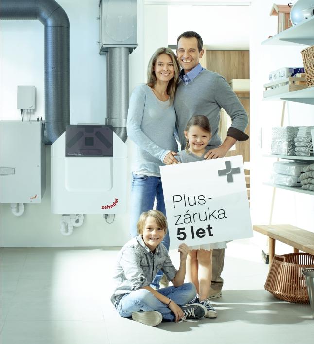 Inovativní, tiché a vysoce účinné rekuperační jednotky pro větrání rodinných domů