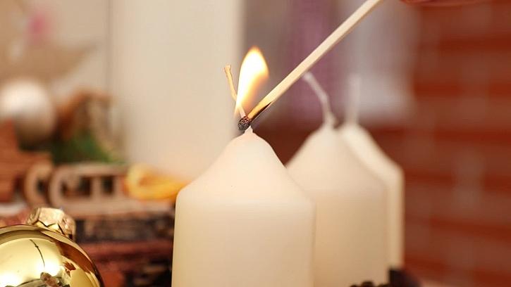 Zapápení svíček