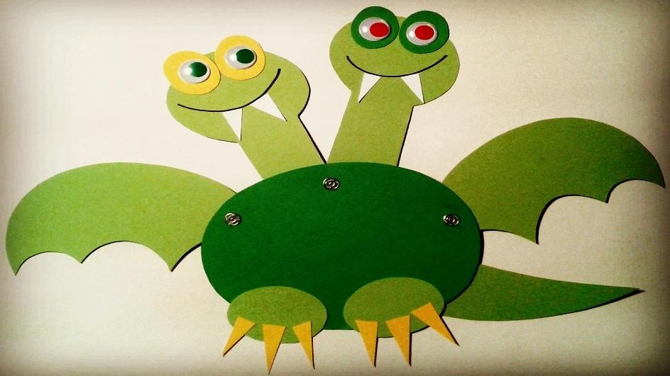 Prima hračka: Jak udělat pohyblivého draka zpapíru