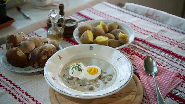 Recept na vynikající babiččinu hříbkovou polévku