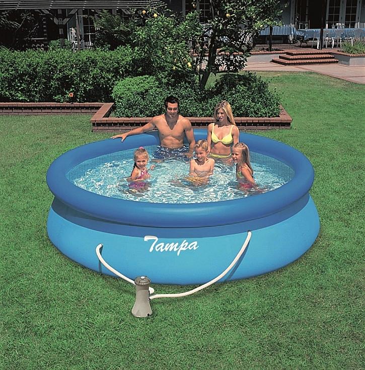 Jak nainstalovat a pečovat o nadzemní bazén