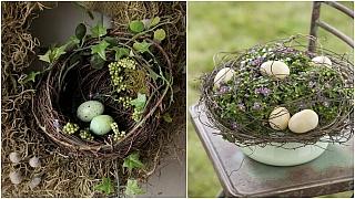 Velikonoční hnízdění: Dekorace inspirované jarní přírodou