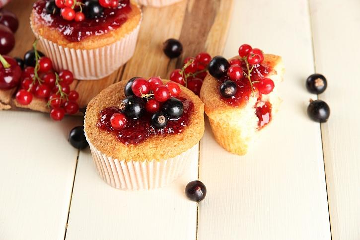 Z rybízu můžete vytvořit muffiny, koktejl nebo třeba zmrzlinu (Zdroj: Depositphotos)