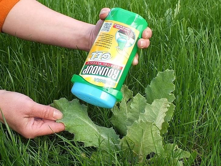 Novinka na pomoc proti plevelům