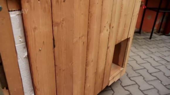 Zateplená bouda pro psa