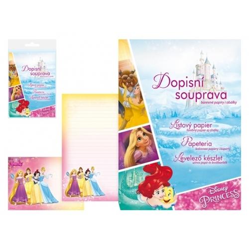 MFP dopisní papír barevný LUX 5+10 Disney (Princess 2)