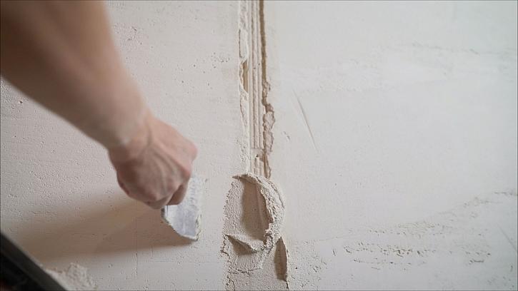 Vyspravení zdí