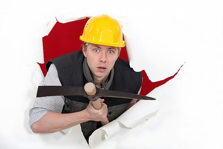 Co máme  dělat, když se na stavbě něco pokazí aneb stavební reklamace