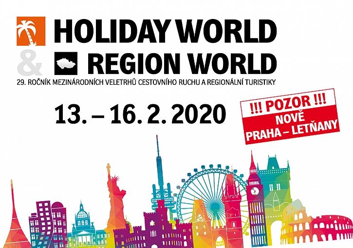 Pozvánka na veletrh Holiday World
