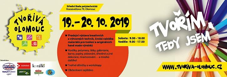 Pozvánka na další ročník výstavy Tvořivá Olomouc