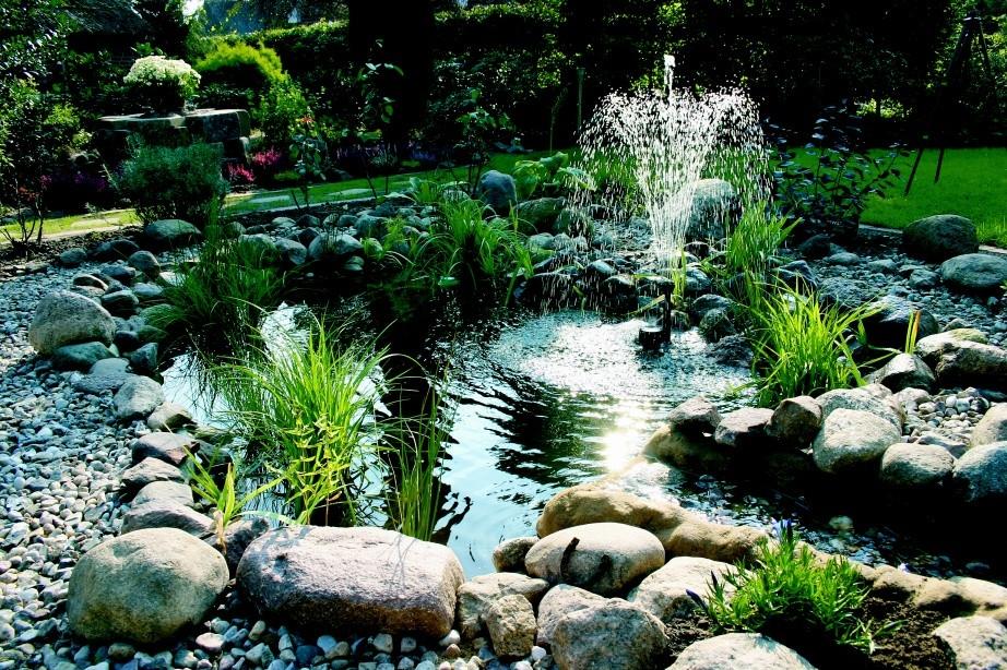 Postavte si svůj vlastní rybníček