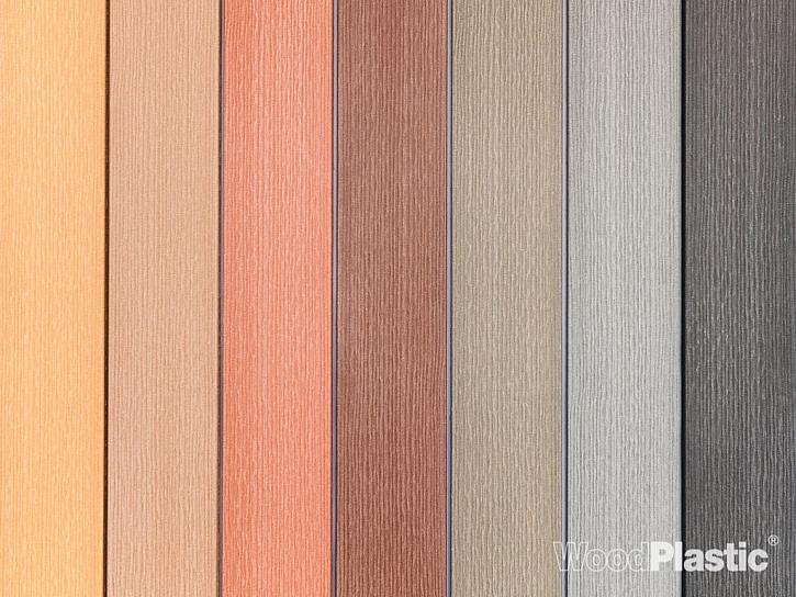 Široký výběr barev a povrchů