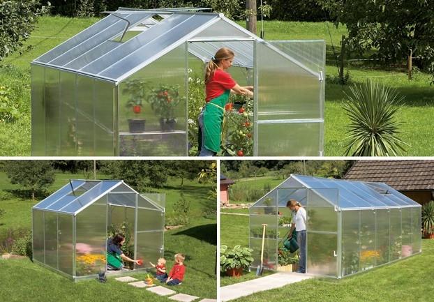 Zahrádkářské skleníky GARDENTEC