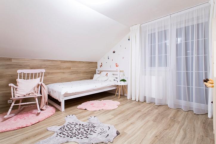 Proměna rozestavěného domu pro mladou rodinu a speciální pokojíček pro Terezku (Zdroj: FTV Prima)