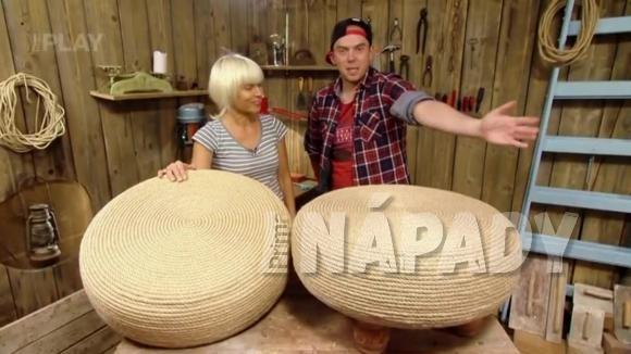 Jak si vyrobit taburet ze staré pneumatiky