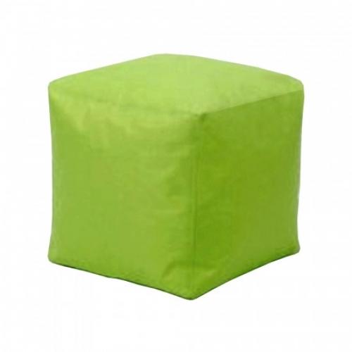 Sedací taburet CUBE světle zelený V21, IDEA nábytek