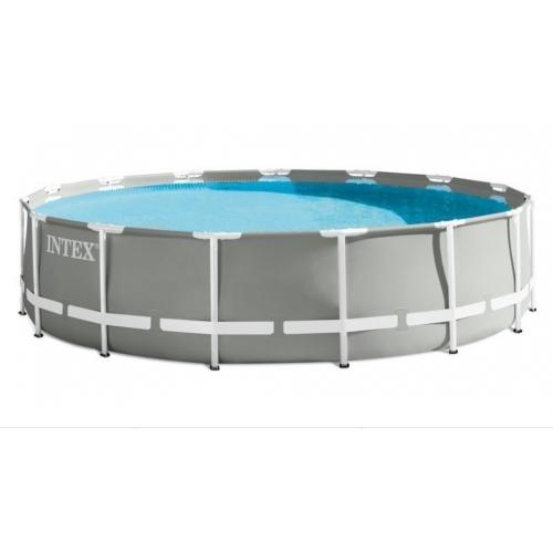 INTEX Bazén Prism Frame Pools 4.57m x 1.22m, s filtrací
