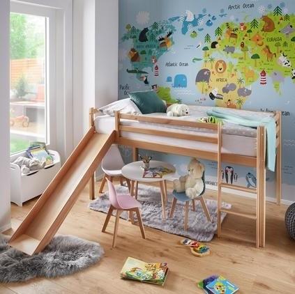 Nejzákladnějším vybavením dětského pokojíčku je postel. Nejúspornější řešení pak představují patrové postele