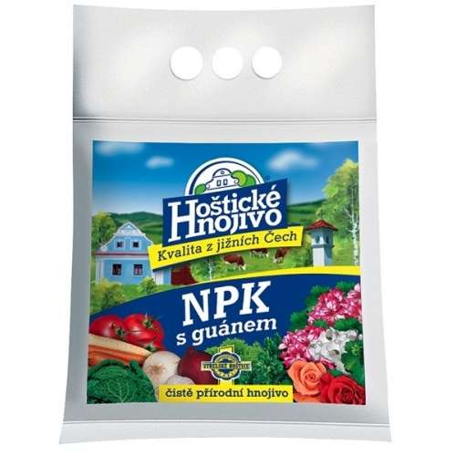Hoštické NPK hnojivo s guánem 5kg