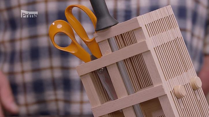 Jak si vyrobit přehledný pořadač na nože? (Zdroj: Pořadač na nože a broušení nožů)