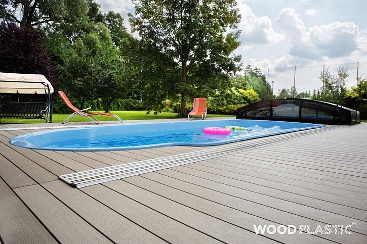 "Wood-plastic composite - to je dřevo ""na celý život"" a bez starostí"