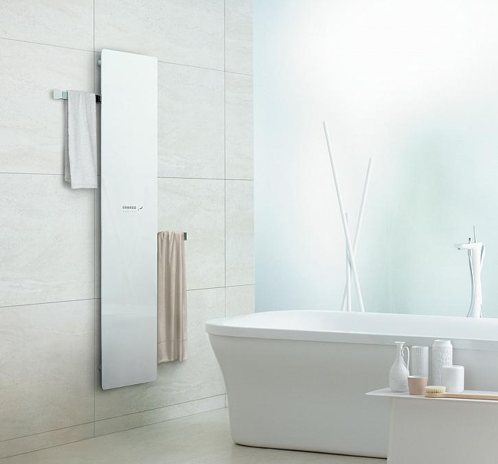 Nový koupelnový radiátor Zehnder Deseo Verso (Zdroj: Zehnder)