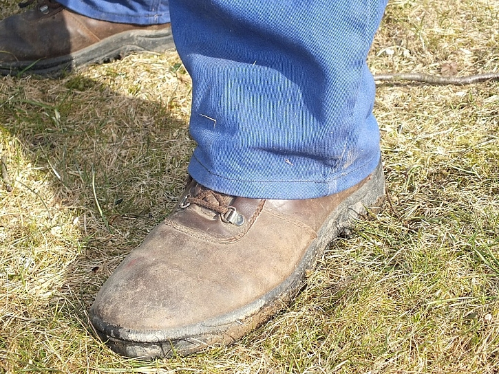 Vhodná obuv sníží riziko